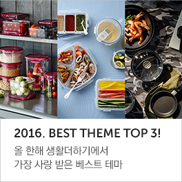 2016년을 빛낸 Best Theme, Top 3!